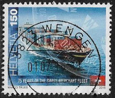 Switzerland 2016 Swiss Merchant Fleet 150c Good/fine Used [40/33128/ND] - Oblitérés