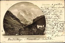 CPA Interlaken Kanton Bern Schweiz, Blick Vom Höhenweg - BE Berne