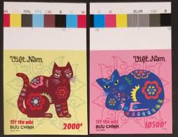 Vietnam Viet Nam MNH Imperf Stamps 2010 : Year Of Cat Zodiac (Ms1000) - Viêt-Nam