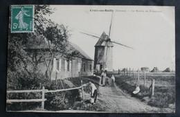CPA Somme - Croix Au Bailly (80880) – Le Moulin De Friaucourt – Santos Opérateur à Eu – Animée – A Voyagé. - Otros Municipios