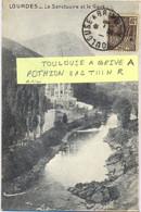 AMBULANT TOULOUSE A BRIVE A TàD 1-8-31 - POTHION 812 TIII NUIT RETOUR - Spoorwegpost