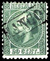 1867, Niederlande, 10 A, Gest. - Zonder Classificatie