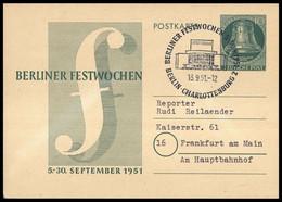 1951, Berlin, P 26, Brief - Unclassified