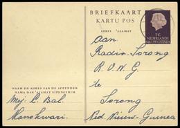1954, Niederländisch Neuguinea, LF (30), Brief - Nouvelle Guinée Néerlandaise