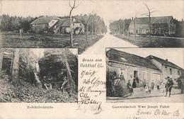 57 Gruss Aus Rehthal Rehthalschlucht Gastwirtschaft Wwe Joseph Faltot Restaurant + Timbre Reich Cachet 1907 - Altri Comuni
