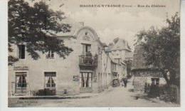 Creuse MAGNAT L'ETRANGE Rue Du Château - Andere Gemeenten