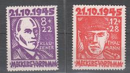 SBZ , Nr. 21 + 22 Postfrisch ( 70.-) - Zona Sovietica
