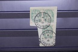 LEVANT FRANÇAIS -  Oblitération De Rhodes Sur Type Blancs En 1916 Sur Fragment - L 100679 - Used Stamps
