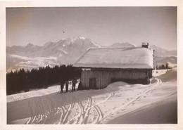 PHOTO MEGEVE COMBLOUX JAILLET LES MOUILLES 02 JANVIER 1938 LOT 440 - Combloux