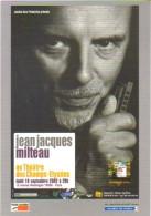"""Carte Postale édition """"Carte à Pub"""" - Jean Jacques Milteau (blues - Musicien - Harmonica) Théâtre Des Champs-Elysées - Publicité"""