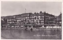 Vevey (Suisse) - Hôtel Des Trois Couronnes - VD Waadt