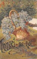 Fleurs (Fantaisie) - Forget Me Not - Illustrateur G De Vaeve - Zonder Classificatie