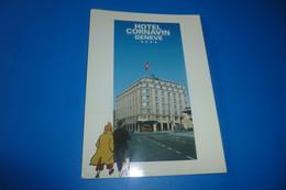 BELLE CARTE ..LES AVENTURES DE TINTIN..L'AFFAIRE TOURNESOL ...HOTEL CORNAVIN A GENEVE - Fumetti