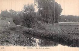 Cpa 91] Essonne > Bievres Les Bords De La Bièvre Rivière Pêcheur - Bievres