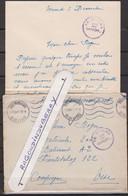 MARCOPHILIE - MILITARIA - COMPIEGNE - FRONTSTALAG 122, Courrier Adres à Un  Prison Avec Cachets Ronds FR STALAG Sur Let - Oorlog 1939-45