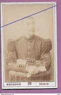 CDV Militaire ,Boisson Photographe à Paris BLD ST DENIS - War, Military