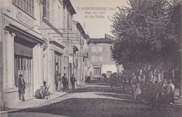 (24)    MONTAUROUX - Rue Du Clot Et Les Cafés - Montauroux