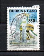 Timbre Oblitére Du Burkina Faso 2017 - Burkina Faso (1984-...)