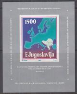 JUGOSLAWIEN  Block 31, Postfrisch **, Außenministerkonfrenz Der Balkanstaaten, 1988 - Blokken & Velletjes