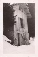 PHOTO MEGEVE COMBLOUX CHALET MARTI FEVRIER 1939 5G - Combloux