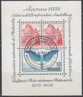 SCHWEIZ  Block 4, Gestempelt, AARAU '38 - Blocchi & Foglietti