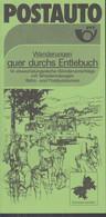 SCHWEIZ Postauto, PTT-Bus, Entlebuch: Schüpfheim, Schangnau, Wolhusen Routen, Ausflüge Und Wandervorschläge, Sommer 1984 - Europa