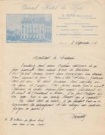 Courrier - Grand Hôtel De Spa ... Photo  - 1936 ( 6 ) - Old Professions