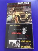 Lot 2 CD Boris Vian - Le Déserteur - La Fête à Boris - Otros - Canción Francesa