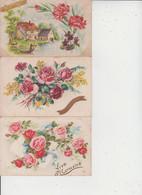FANTAISIES  -  SAINTE CATHERINE  -  LOT DE 40 CARTES  - - 5 - 99 Postcards