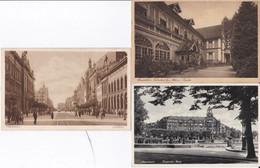 DC2276- Ak Mannheim 3 Karten Lot Marienheim Erlenbach Baden Friedrichs-Platz Planken - Mannheim