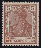 140a Germania 5 Pf ** - Unclassified
