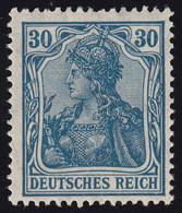144II Germania 30 Pf Drucktype II, ** - Unclassified