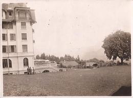 PHOTO COMBLOUX HOTEL PLM SOUVENIR D'UNE EXCURSION FAITE EN AUTO-CAR 6 JUILLET 1924 - Combloux