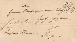 1877 Marktgraitz Dokument N. Lichtenfels - Briefe U. Dokumente