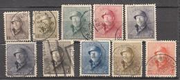 LOT DE 20 TIMBRES ROI CASQUE NEUFS ET OBLITERE - 1919-1920 Behelmter König