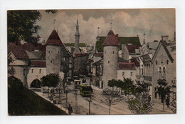 - CPA TALLINN (Estonie) - Wiru Tänaw 1924 - REVAL - Lehmpforte - - Estonie