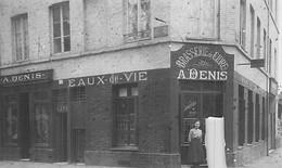 Carte Photo CAFE ET BRASSERIE DE CIDRE EAUX DE VIE A DENIS RUE DE PARIS - Cafés