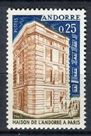 ANDORRE ( POSTE ) : Y&T N°  174  TIMBRE  NEUF  SANS  TRACE  DE  CHARNIERE , A  SAISIR . - Neufs