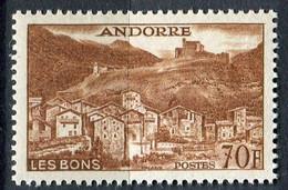 ANDORRE ( POSTE ) : Y&T N°  152B  TIMBRE  NEUF  SANS  TRACE  DE  CHARNIERE , A  SAISIR . - Nuevos
