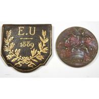 Médaille Exposition Universelle 1889 Par Trovis Bottée - Other