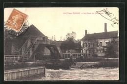 CPA Lucy-sur-Yonne, Le Canal Du Nivernais - Unclassified