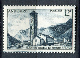 ANDORRE ( POSTE ) : Y&T N°  145  TIMBRE  NEUF  SANS  TRACE  DE  CHARNIERE , A  SAISIR . - Nuevos