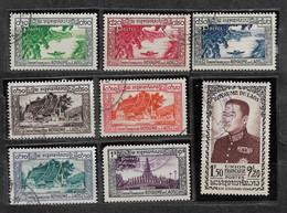 Laos.  Y&T N°1#8 Obl  LOT N° LA101 - Laos