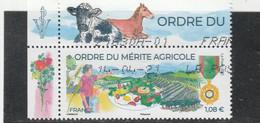 FRANCE 2021 - ORDRE DU MERITE AGRICOLE OBLITERE + BDF - Used Stamps