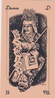 EX-Libris - Rik Decoene - Playing Cards Dame - Roi / Lady - King By Anouchka '85 - Ex Libris