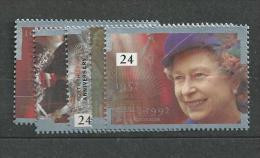 1992 MNH GB, UK, Engeland Grossbritanien, 50y Elizabeth,  Postfris - Neufs
