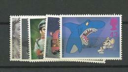 1996 MNH GB, UK, Engeland, Mi 1652-56  Postfris - Nuevos