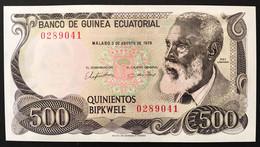Equatorial Guinea 500 Bipkwele P15 1979 Unc- Q,fds  LOTTO 2623 - Equatorial Guinea