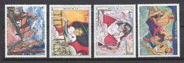 ⭐ Monaco - YT N° 1241 à 1244 - Neuf Sans Charnière - 1980 ⭐ - Unused Stamps