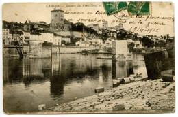 CAHORS - Ruines Du Pont Neuf Et Le Pont Bateau - Voir Scan - Cahors